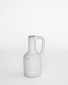 Handled Bottleneck Vase