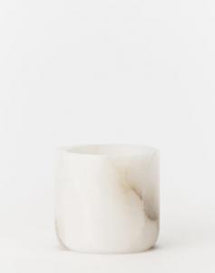Alabaster Tea-light Holder