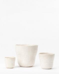 Textured Ceramic Pot