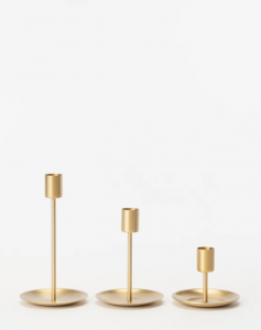 Brass Taper Holder