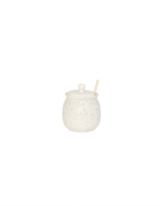 Speckled Honey Jar