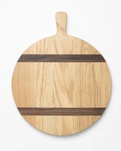 Round Oak Bread Board