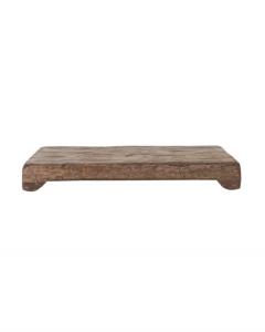 Mango Wood Rectangular Pedestal