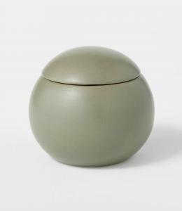 12.5oz Ceramic Sphere Jar Clove and Black Currant Candle