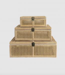 Natural Cane Box