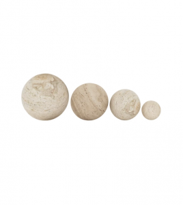 Travertine Stone Object