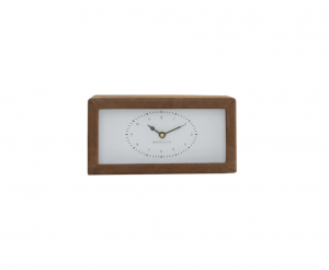 Leather Wrapped Clock