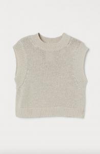 Boxy Sweater Vest