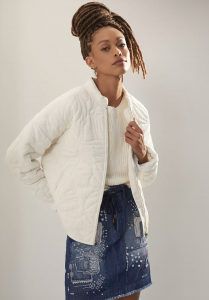 Relaxed Quilted Jacket