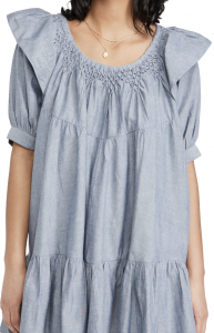 Amelie Mini Dress Denim