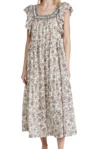Bonita Printed Midi Dress