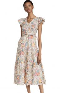 Ines Floral Smocked Dress