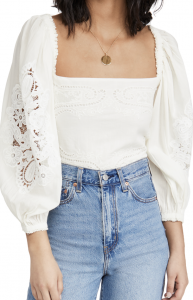 Off White Lace Blouse