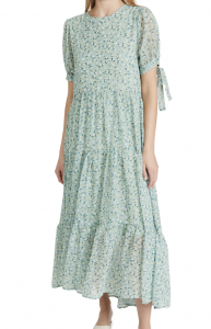 Rival Floral Tiered Maxi Dress