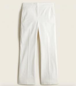 Hayden Kickout Crop Pant in Bi-Stretch Cotton