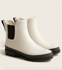 Short Lug-Sole Rainboots