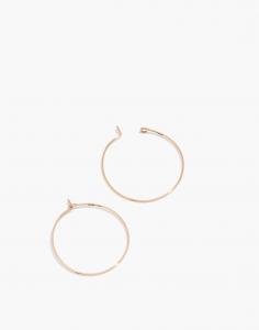 Delicate Collection Demi-Fine 14k Gold-Filled Medium Hoop Earrings
