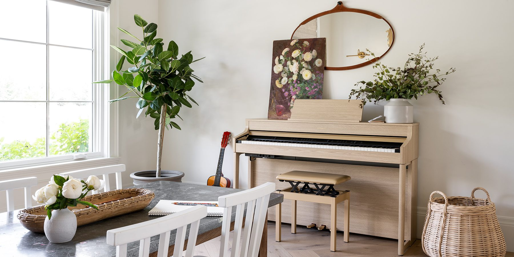 The McGee Home: The Craft & Music Room