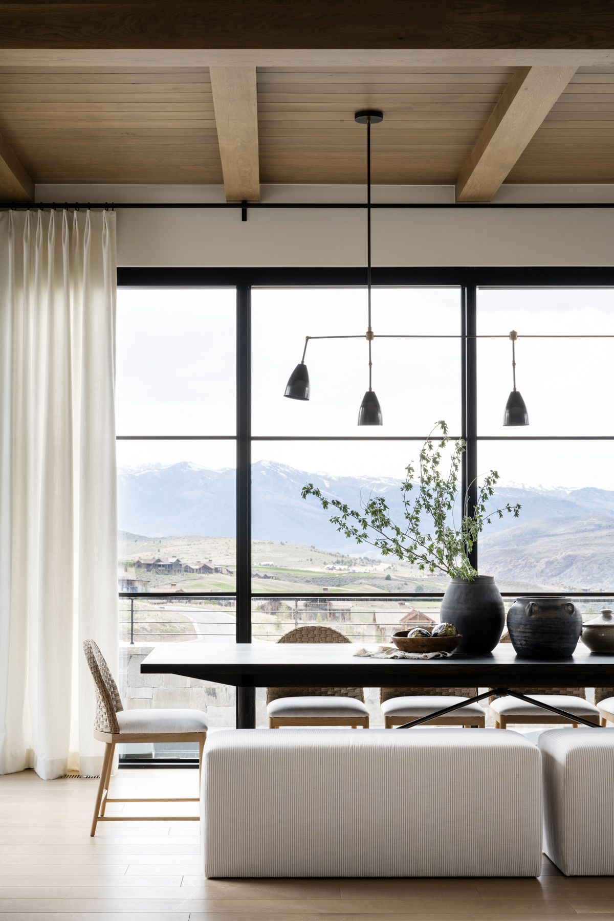 Mountainside Retreat: The Dining Room