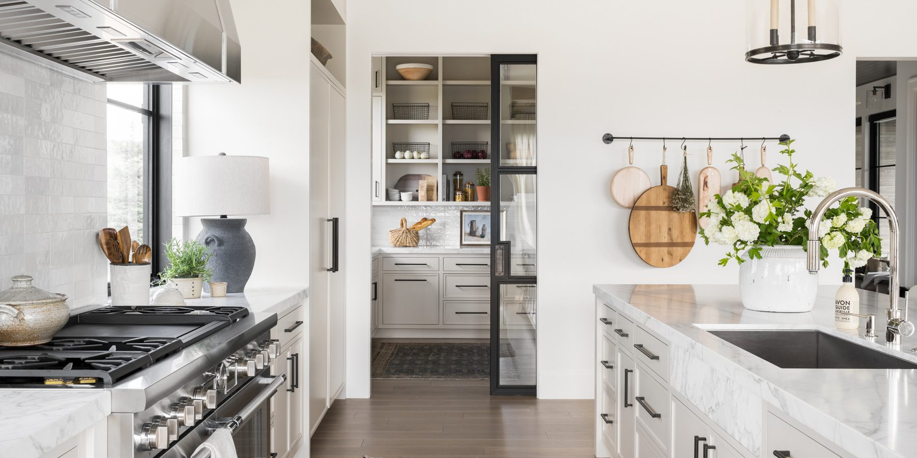 Mountainside Retreat: The Kitchen & Pantry