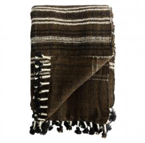 Amie Wool Stripe Throw