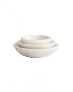 Marble Nesting Bowls (Set of 3)