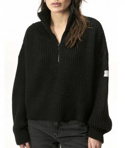 Fisherman Half Zip Sweater