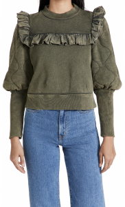 Layla Puff Sleeve Sweatshirt