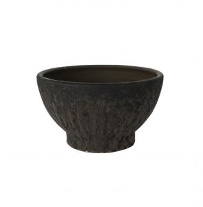 Textured Pedestal Bowl