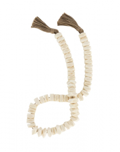 Faceted Bone Beads