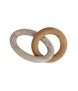 Duo Marble Stone Links