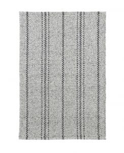 Melange Black Stripe Indoor / Outdoor Rug