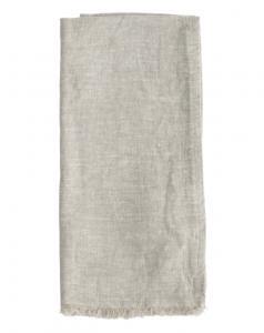 Gray Frayed Edge Hand Towel