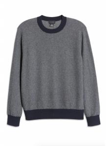 Cotton & Wool Crewneck Sweater