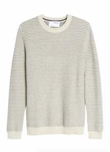 Wes Crewneck Organic Cotton Blend Sweater