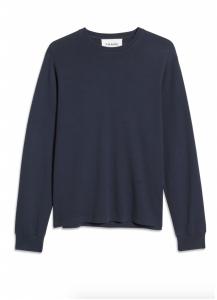 Cotton Duofold Long Sleeve Cotton T-Shirt