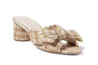Emilia Gingham Mule Sandals