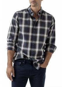 Glenene Plaid Button-Down Shirt