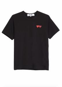 Twin Hearts Slim Fit Jersey T-Shirt