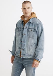 Oversized Jean Jacket in Manitoba Wash