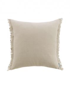 Hazelton Mushroom Fringed Pillow Cover