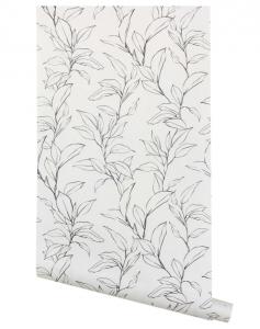 Cecile Floral Print Wallpaper