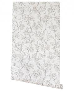 Blair Sketched Floral Wallpaper