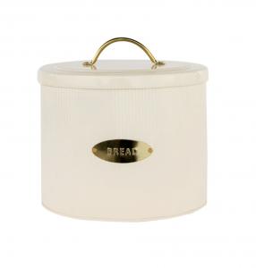 Brass Detailed Metal Bread Box