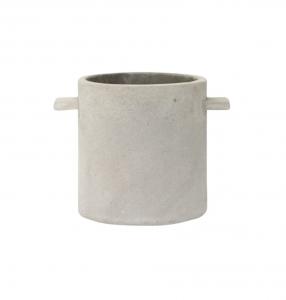 Handled Concrete Crock
