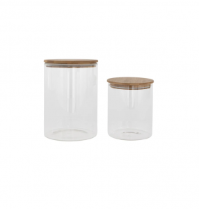 Galena Glass Canisters