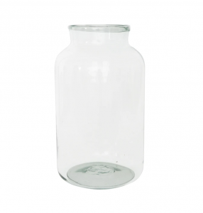 Summer Harvest Glass Jar