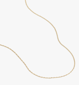 Delicate Collection Demi-Fine 14k Plated Chain Necklace