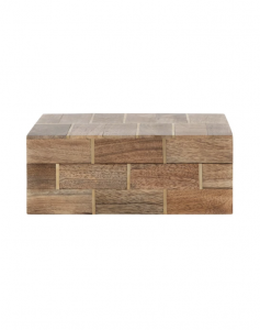 Wood & Brass Box