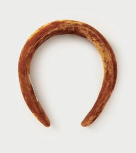 Bellamy Tobacco Puffy Headband